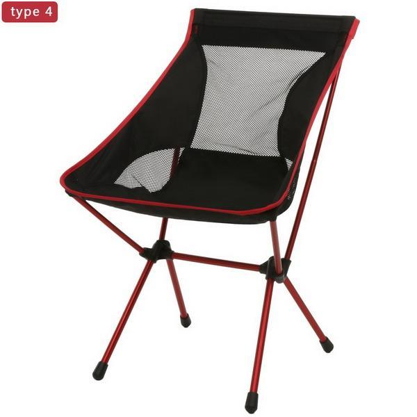 Camp Chair Ground Lightweight and Durable Construction Outdoors Garden 2