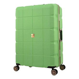 日本 LEGEND WALKER 6023-70-29吋 PP輕量行李箱 蘋果綠