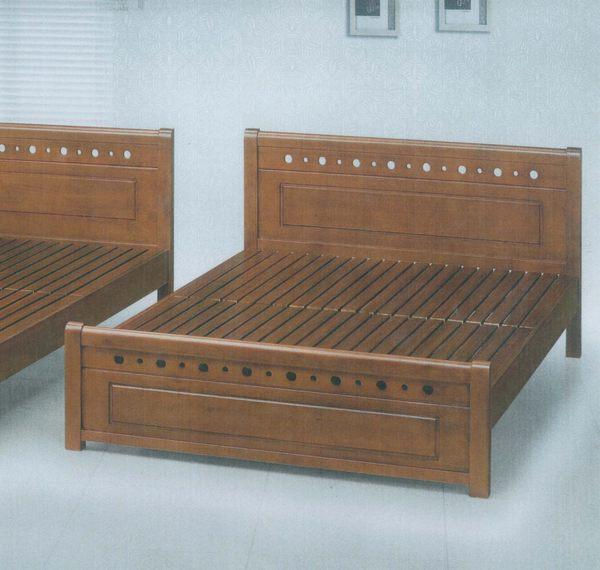 【石川家居】DA-13 全實木6尺雙人床架 另有3.5尺 5尺 需搭配車趟費