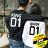 ◆快速出貨◆刷毛T恤 圓領刷毛 情侶T恤 暖暖刷毛 MIT台灣製.背後KING QUEEN 01【YS0392】可單買.艾咪E舖 1