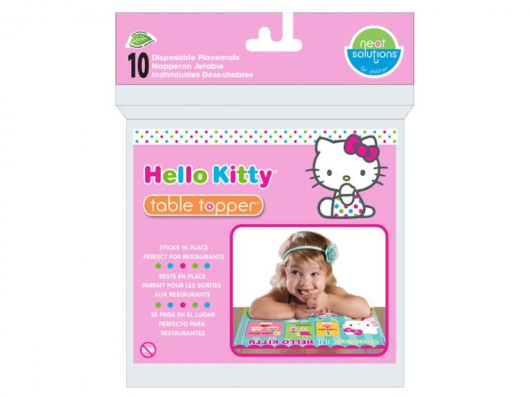 美國 Neat Solutions Table Topper 拋棄式餐墊 Hello Kitty 10入 *夏日微風*