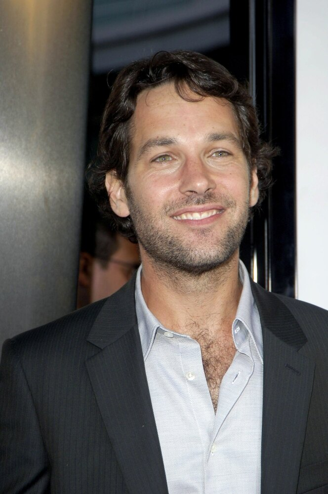Paul Rudd At Arrivals For The 40 Year-Old Virgin Premiere The Arclight Cinema Los Angeles Ca August 11 2005 Photo By Michael GermanaEverett Collection Celebrity (8 x 10) 0
