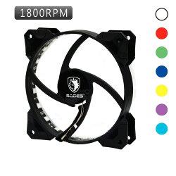 【迪特軍3C】立光代理 SADES 曼荼羅 12CM RGB 模組可拆 變色風扇 三入套裝組 附一組 RGB 燈條 控制器 遙控器