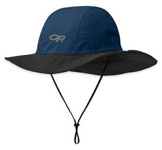 【鄉野情戶外專業】 Outdoor Research  美國  Seattle Sombrero GTX 防水圓盤帽/Gore-Tex 登山帽 健行帽 防曬帽 遮陽帽-深藍/82130 ,243505