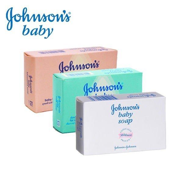 Johnson s 嬌生 嬰兒香皂三款任選 原味滋潤/花朵馨香/牛奶滋【Miss.Sugar】【K4006323】