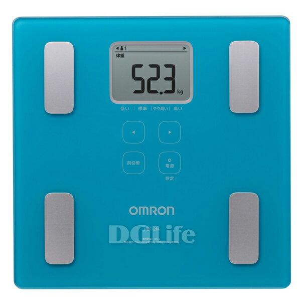 HBF-214  Omron 歐姆龍體重體脂肪計 藍色 HBF214 限時優惠!!