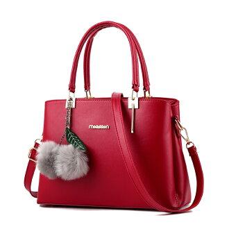 甜美時尚優雅手提斜背兩用包#KLY8743