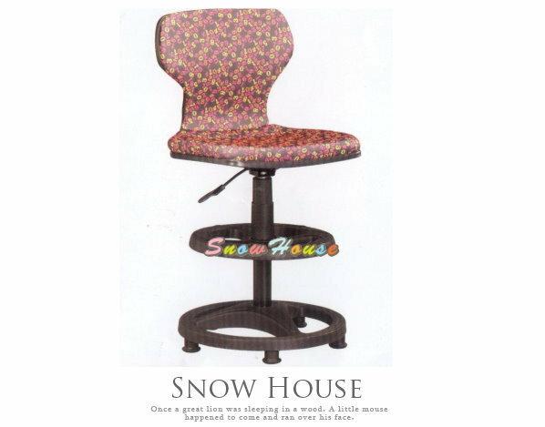 ╭☆雪之屋居家生活館☆╯AA302-04 ST-02C多功能學童椅/兒童電腦椅/氣壓升降/固定腳(紅彩布)