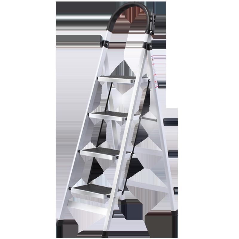 梯子折疊人字梯子加厚多功能鋼管扶小梯子雙十一