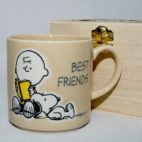 史努比Snoopy商品推薦,史努比馬克杯推薦到SNOOPY 史努比 陶瓷馬克杯 鏤空花紋木盒 正版 日本製