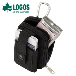 【日本LOGOS】HIP CARGO NO.1 腰包『黑』戶外 隨身包 手機包 配件包 腰掛包 88220010