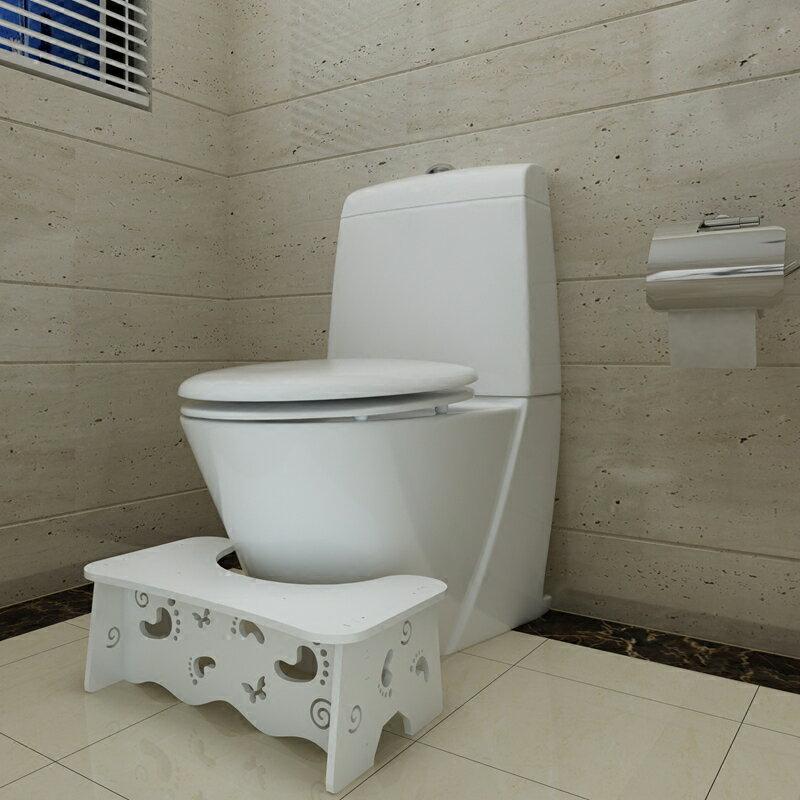 馬桶凳 衛生間廁所成人馬桶腳踏凳浴室防滑兒童墊腳凳子孕婦如廁增高蹲凳 HH5223