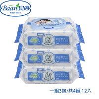 貝恩Baan 嬰兒柔濕巾-無香料80抽(12包入)★平均只要$0.67/抽-麗嬰房-親子特惠商品
