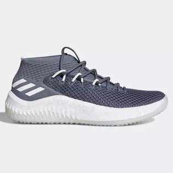 AdidasDame4DamianLillard男鞋籃球透氣灰白【運動世界】AC8650