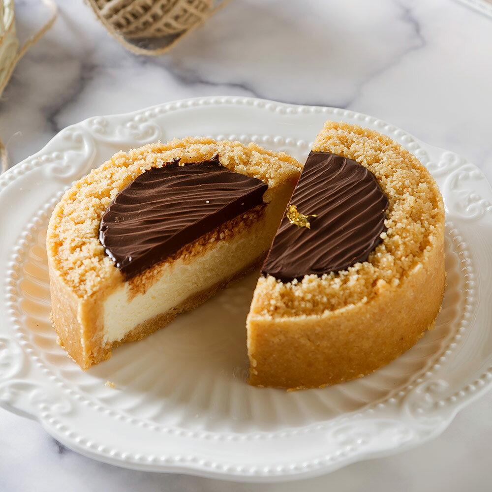 艾波索-情人節限定【比利時巧克力乳酪4吋+草莓無限乳酪4吋】蘋果日報蛋糕評比冠軍!