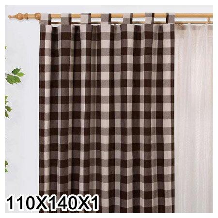 吊帶式窗簾ESTELLACHECK BE 110X140X1