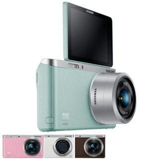 【福利出清】SAMSUNG NX mini 9-27mm KIT 變焦鏡組 微單眼 自拍 翻轉螢幕 公司貨