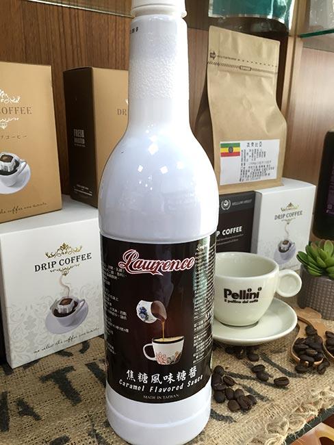 勞倫斯糖漿果露-焦糖裝飾淋醬 (1.3kg)--【良鎂咖啡吧台原物料商】