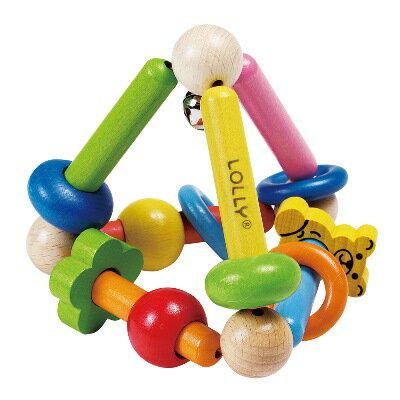 LOLLY 木製玩具-耀眼錐形手搖鈴【悅兒園婦幼生活館】 - 限時優惠好康折扣
