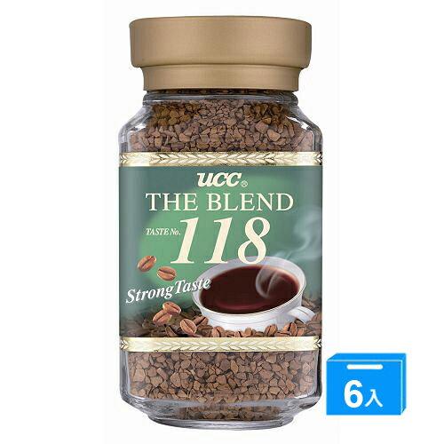 <br/><br/> UCC 118精緻即溶咖啡100g*6【愛買】<br/><br/>