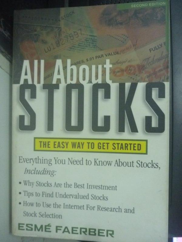 ~書寶 書T7/財經企管_XBO~All about stocks : the easy