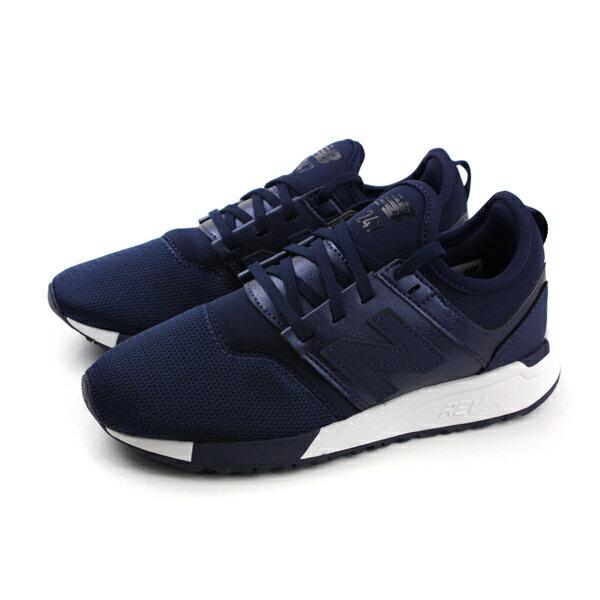 HUMAN PEACE:NEWBALANCE247REVLITE跑鞋運動鞋避震女鞋深藍色窄楦WRL247HIno348