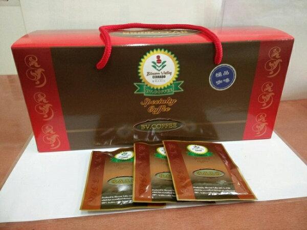 鏡感樂活市集:現折再買10送1極品掛耳式咖啡隨身包30入盒巴西冠軍咖啡豆