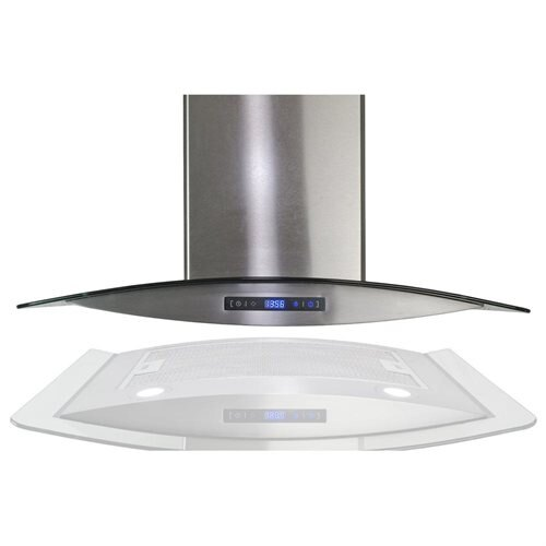 "AKDY 36"" AK-688-CS14-90 Europe Style Stainless Steel Wall Range Hood 2"