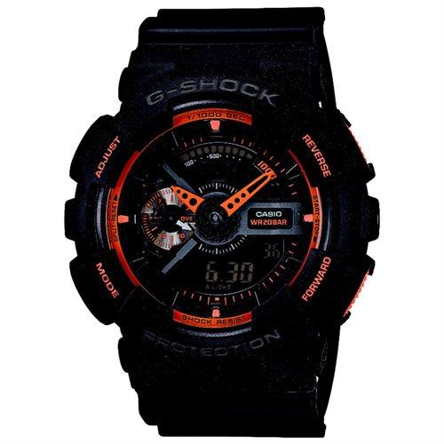 Black Casio G-Shock Analog Digital Watch GA110TS-1A4 0