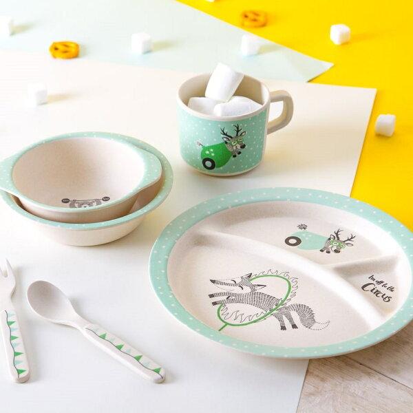 丹麥馬戲團兒童餐具(5入)