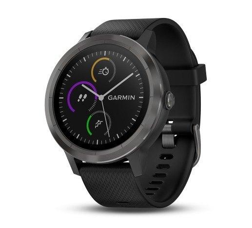 ★整點特賣限量商品★尊爵黑GARMINVIVOACTIVE3智慧腕錶原廠公司貨