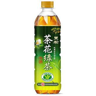 黑松 茶花綠茶 無糖 580ml (24入)/箱