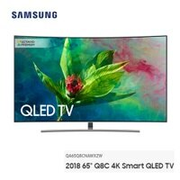 Samsung 三星到【滿3千,15%點數回饋(1%=1元)】SAMSUNG 65型 Q8C 三星 4K Smart QLED 黃金曲面 量子電視 QA65Q8CNAWXZW  (含基本安裝) 公司貨 免運費 12分期0% 變色龍系列