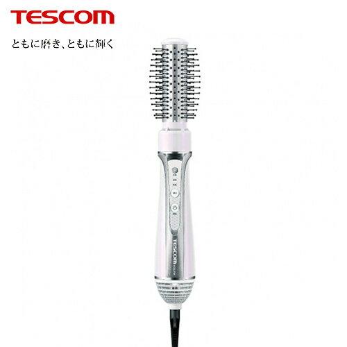 【TESCOM】自動電壓椿油造型整髮梳白色(TIC6JTW)【三井3C】