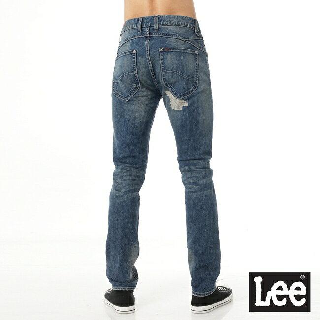 Lee Magma 709 低腰合身小直筒牛仔褲 2
