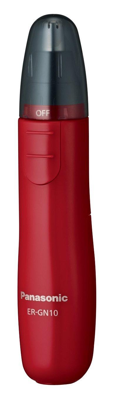 Panasonic ER-GN10 國際牌 3色電動鼻毛修剪器剃毛刀 / 電動鼻毛刀 / 刮鬍 黑 / 白 / 紅【現貨】【星野日貨】 3