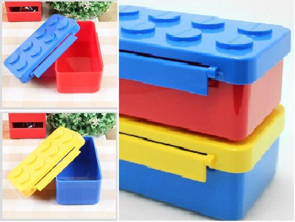 《OXFORD》積木餐盒(顏色隨機出貨)