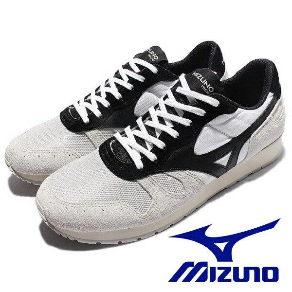 【MIZUNO 促銷5折】MIZUNO 1906 ML87 復古 低筒 運動 麂皮 女 灰黑 休閒鞋運動鞋健走鞋跑鞋-D1GA170002