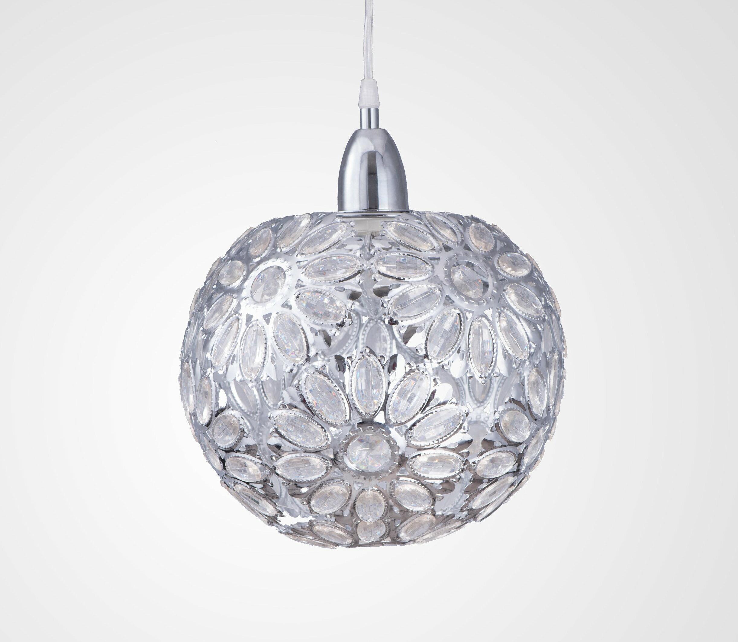鍍鉻波斯蘭菊吊燈-BNL00086 5