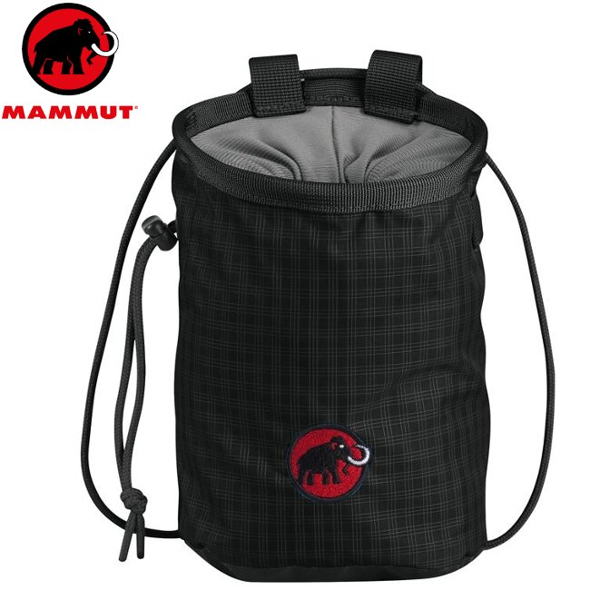 Mammut 長毛象 Basic Chalk Bag 攀岩粉袋 2290-00372 0001 黑