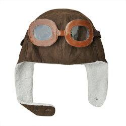 韓版兒童空軍飛行帽 護耳雷鋒帽子 雷鋒帽 保暖護耳帽 2色【IB260】99750走走去旅行