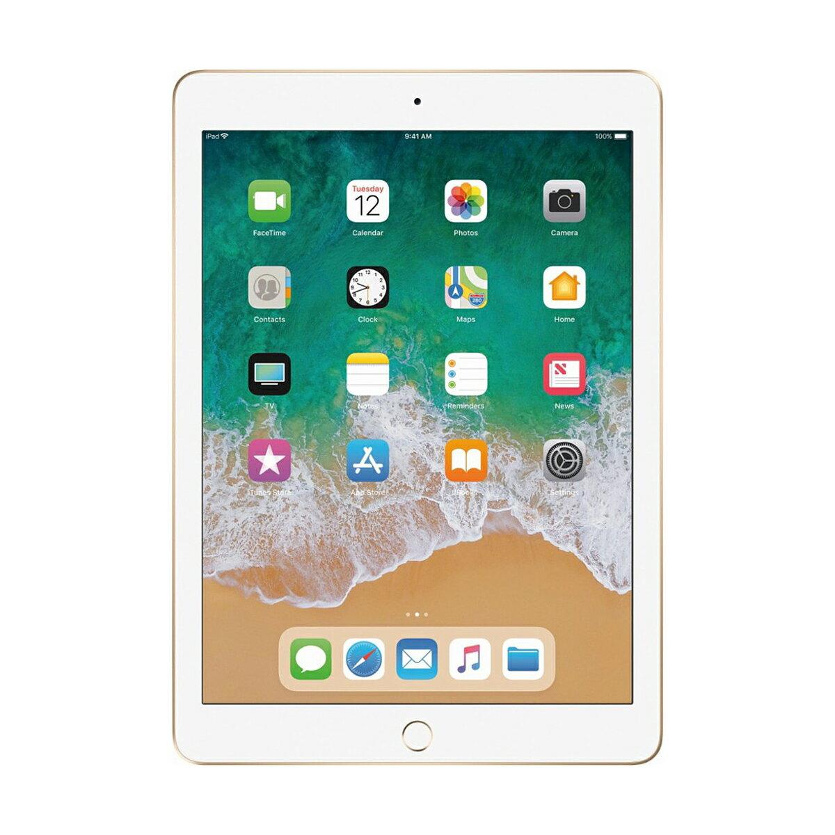 """Apple iPad 9.7"""" Retina Display 32GB Wi-Fi Multi-Touch Tablet 5th Gen MPGT2LLA - Gold 1"""