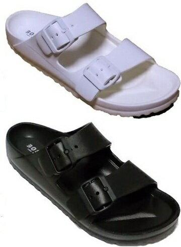 【晨光】TWO BOSS 漂浮涼拖鞋/勃肯鞋 (黑、白共二色)-8802