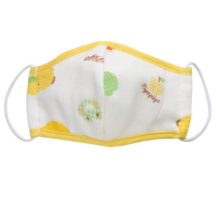 【悅兒樂婦幼用品?】Piyo 黃色小鴨 幼兒紗布立體口罩(M)