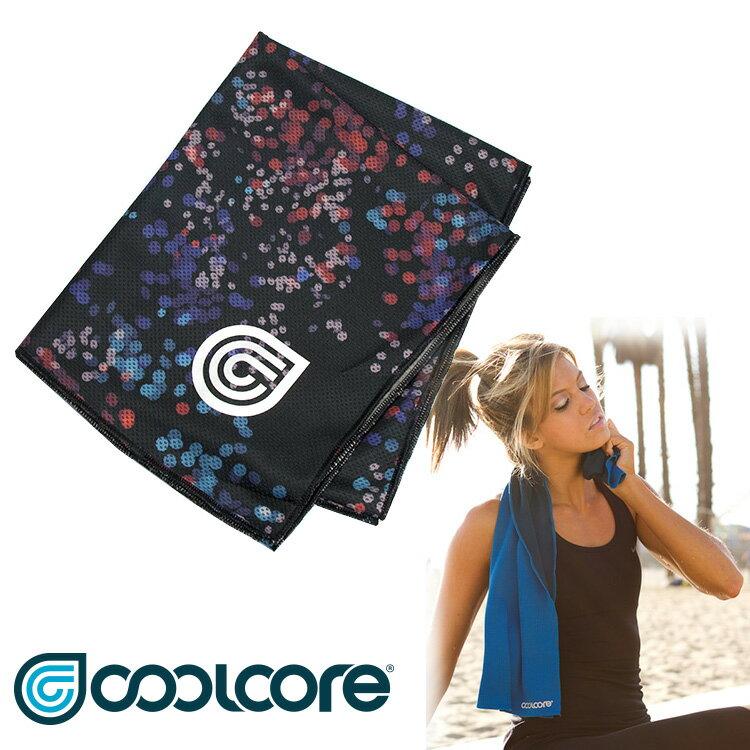 【印花系列】COOLCORE Chill Sport涼感運動巾  /  城市綠洲(涼感、降溫、運動戶外、高性能針織) 4