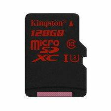 【新風尚潮流】金士頓記憶卡 128G 128GB micro SDXC C10 U3 SDCA3/128GB
