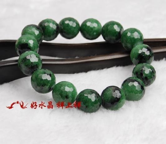 綠寶石 手鏈 128面完美切面 水晶手鏈