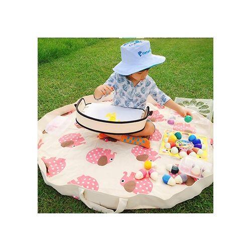 加拿大 3 Sprouts 玩具收納袋-大象(玩具秒收神器)0812895000481★愛兒麗婦幼用品★