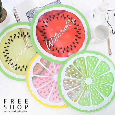 Free Shop:FreeShop夏日涼感凝膠墊冰墊坐墊降溫神器超可愛水果西瓜檸檬款當寵物墊也能用【QAAFE7071】