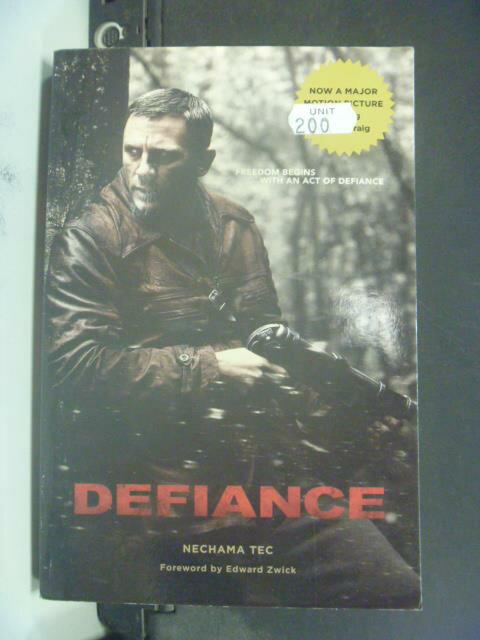 ~書寶 書T2/原文小說_IBI~Defiance_Nechama Tec